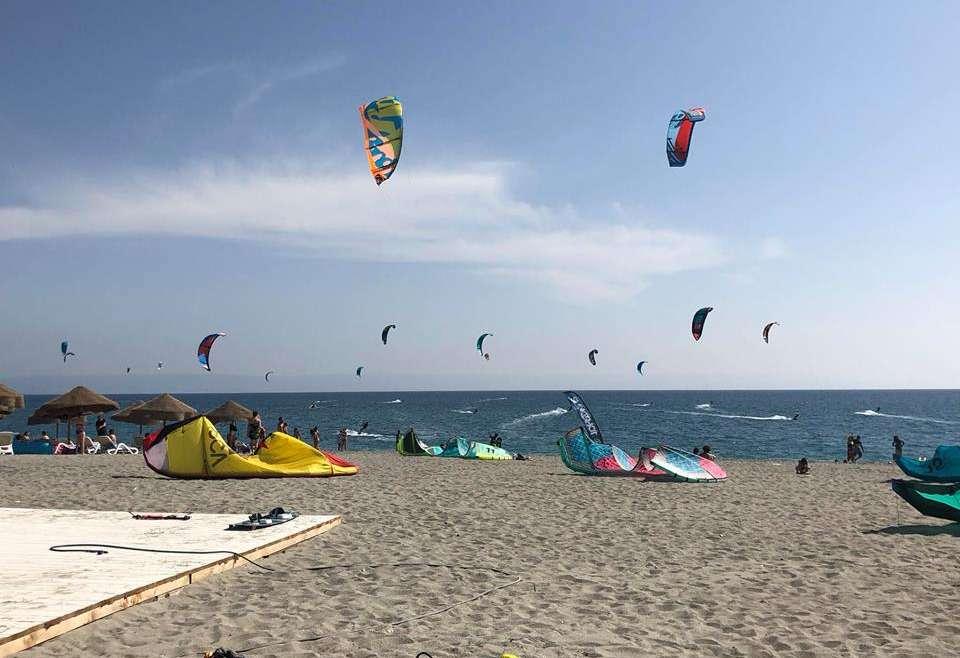 kite surf in calabria dove praticare .