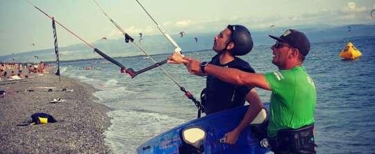kitesurf in calabria .