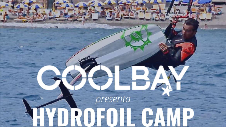 Hydrofoil kite Camp